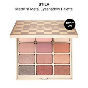 NWT ✨Stilla Matte N' Metal Eye Shadow Palette